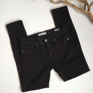 Banana Republic Black Skinny Anke Jeans